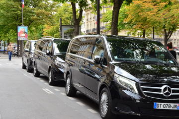 Paris airport Transfers - Minivan