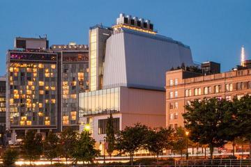 Entrada al Museo Whitney de Arte Estadounidense
