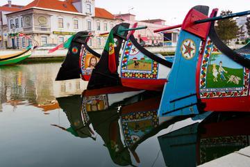 Visite guidée privée d'une journée à Aveiro et Coimbra au départ de...