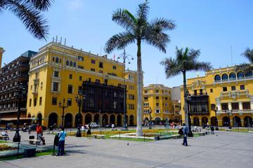 Visita a pie por la ciudad de Lima