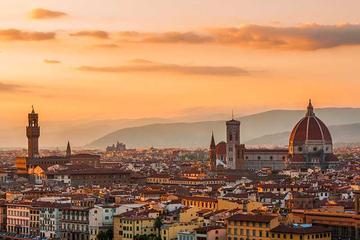 Balade à pied hivernale dans Florence avec visite des Offices