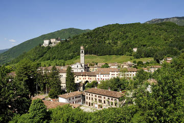 Full-day Veneto vineyards and clastles wine tour