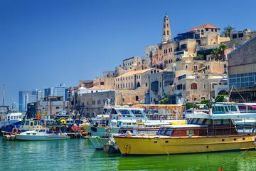 Israel: traditional dinner in Old jaffa with locals