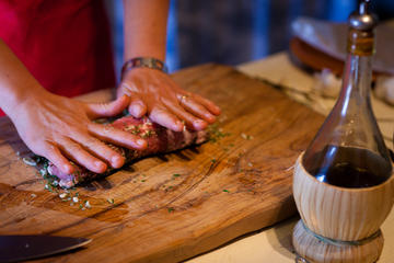 Medieval Cooking Class with Lunch in Assisi