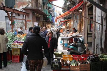Promenade à pied à la découverte de la cuisine de rue de Palerme