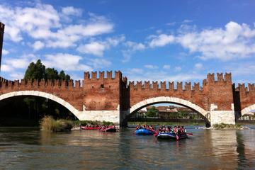 Rafting in Verona on the river Adige