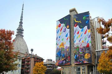 Spaziergang durch die Straßenkunst von Turin