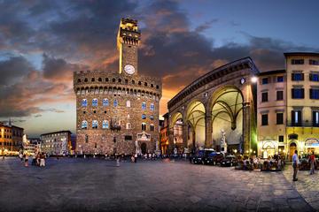 Tour a piedi d'arte e cibo da strada a Firenze