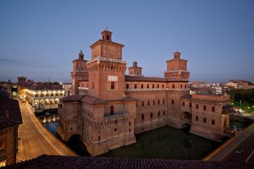 Traditional Tigellata on the terrace in Ferrara