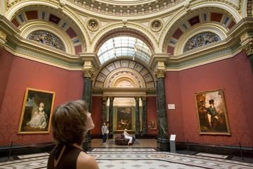 Woman at the National Gallery with an Art Historian
