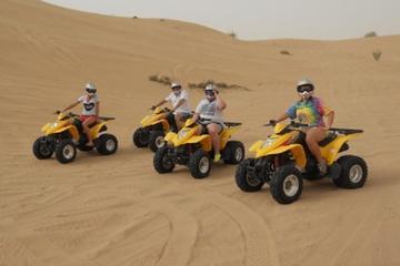 Sandloppesafari med ATV-opplevelse