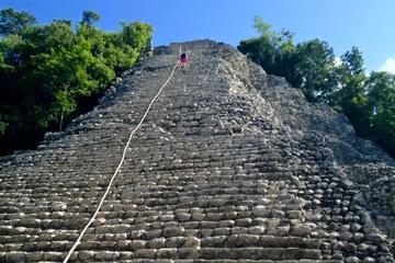 Coba Ruins and Punta Laguna Money Reserve Day Tour from Tulum
