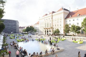 MuseumsQuartier Complex Public Tour in Vienna