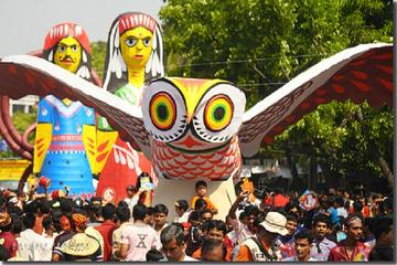Full-Day Tour of Bengali New Year Celebration in Dhaka