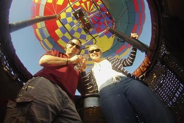 Passeio de balão de ar quente privado...