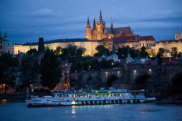Cruise on the Vltava river with dinner and music