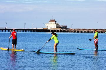 Private Stand-Up Paddle Board Lesson at St Kilda