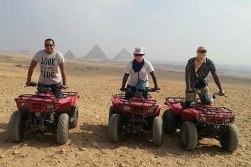 Excursión privada de un día: Pirámides de Guiza y aventura en quad