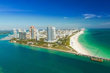 Miami Beach e South Beach de Avião...