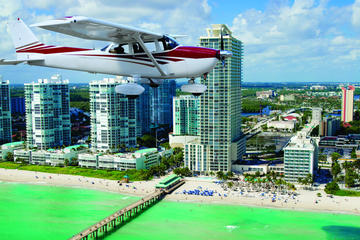 Miami Skyline Airplane Tour