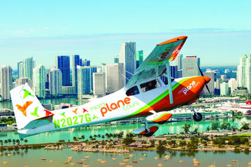 Day Trip Miami Skyline Airplane Tour near Pembroke Pines, Florida