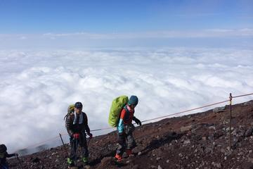 Climb the Summit of Mt Fuji with a Professional Guide 2-Day Tour from Tokyo