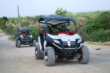 Aventura en buggy por playa Macao desde Punta Cana
