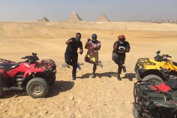 Desert safari at Giza Pyramids with Quad Bike