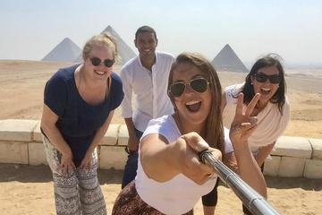 Layover Visit Giza Pyramids and Felucca Ride on The Nile River and Dinner Cruise