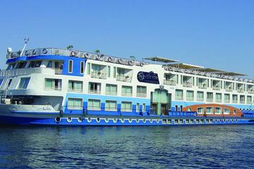 Nile Cruise Blue Shadow from Aswan to Luxor for 4 days 3 nights with sightseen