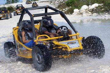 Aventura en buggy en Punta Cana a la playa Macao con baño en cueva
