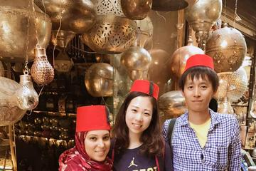 Cairo day tour to Egyptian Museum Citadel & Khan Khalili Bazaar