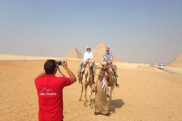 Excursión de día completo desde El Cairo: Pirámides de Guiza, Esfinge...