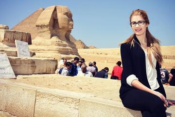 Private 8 Hours Tour Visit Giza Pyramids Memphis Sakkara and Dahshur...