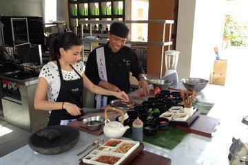 バリ料理クラスとマーケット ツアー