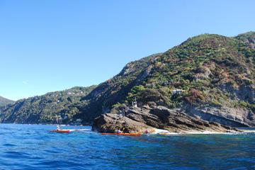 Full Day Sea Kayak Tour in Portofino's Park