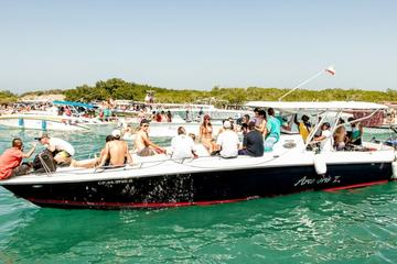 Private Island Hopping Tour to Rosario Islands on a 42ft Speedboat