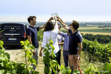 Small Group Tour Champagne Wine Tasting Departing from Epernay