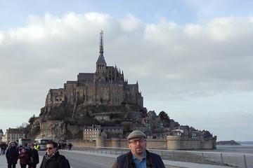 Excursion privée: excursion d'une journée au Mont-Saint-Michel au...