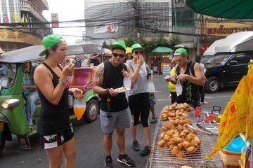バンコクのサイアム チバ試食サイクリング ツアー
