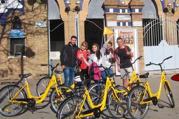 Excursão de bicicleta guiada de Barcelona