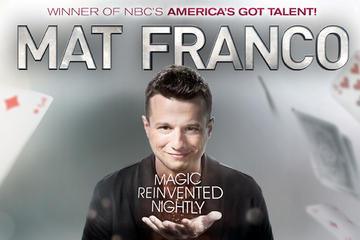 Mat Franco Magic Reinvented todas las noches en The LINQ Hotel and...