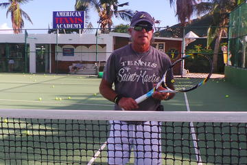 St Martin/St Maarten Private Tennis...