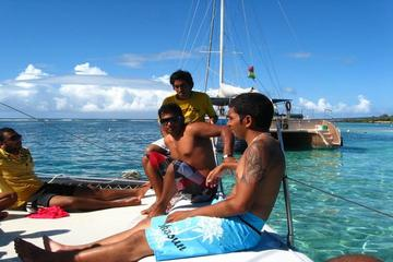 Catamaran Trip to Gabriel Island via Coin de Mire with Lunch and...