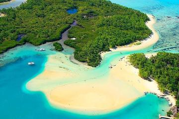 Full-Day Catamaran Cruise in Mauritius: Ile aux Cerfs, GRSE Waterfall...