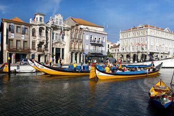 Aveiro und Costa Nova mit Bootstour auf dem Fluss - ganztägige Tour...