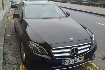 Private Luxury Sedan One-Way Porto Airport Transfer to Central Porto