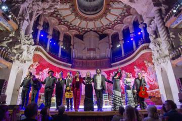 Grand festival de flamenco de Barcelona au Palau de la Música Catalana