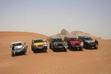 Condução própria em 4x4 no Deserto de Dubai e Safári nas Dunas