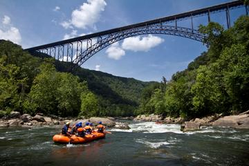 Viaje de descenso de rafting en el...